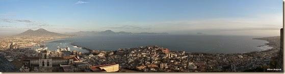 Bahía de Nápoles desde el Castillo de San Telmo de Oliver-Bonjoch