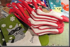 Might not look like it, but there are 38 Stockings here!
