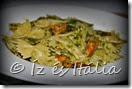 Olasz tészták: farfalle és fekete kagyló