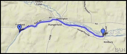 map Kintbury