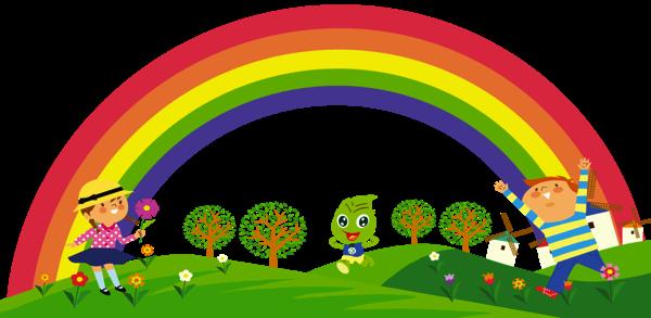 Care For My World rainbow