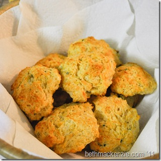 The Kitchen Minions: Cheddar Sage Biscuits