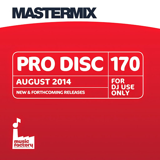 Take advantage of the great package of benefits for members of the National Association of Disc Jockeys: www.nadj.org.uk/latest-nadj-news/674-exclusive-10-off-mastermix-cds-and-music-downloads-for-all-nadj-members.html<br /><br />Title: Pro Disc 170<br />Product code: CD1334<br /><br />Disc One<br /><br />1. Lay Me Down - Avicii<br />2. Boom Clap - Charli XCX<br />3. Come Over - Clean Bandit feat. Stylo G<br />4. Make The World Go Round - DJ Cassidy feat. R.Kelly<br />5. Glorious - Foxes<br />6. Lovers On The Sun - David Guetta feat. Sam Martin<br />7. Bailando - Enrique Iglesias feat. Sean Paul, Gente De Zona & Descemer Bueno<br />8. Giant In My Heart - Kiesza<br />9. Way We Are - Kove feat. Melissa Steel<br />10. Right Before My Eyes - Little Nikki feat. DJ S.K.T<br />11. Lay Me Down - Pixie Lott<br />12. Really Don't Care - Demi Lovato feat. Cher Lloyd<br />13. Rude - Magic!<br />14. Stranger - Chris Malinchak feat. Mikky Ekko<br />15. My Friend Has A Swimming Pool - Mausi<br />16. Down On My Luck - Vic Mensa<br />17. Always (Route 94 Edit) - MK feat. Alana<br />18. Home - Naughty Boy feat. Sam Romans<br />19. Louder - Neon Jungle<br />20. Am I Wrong - Nico & Vinz<br />21. Love Runs Out - OneRepublic<br />22. Tonight (We Live Forever) - Union J<br /><br />www.mastermixdj.com