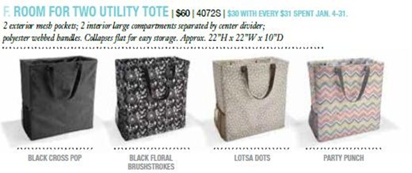 Room For Two Utility Tote
