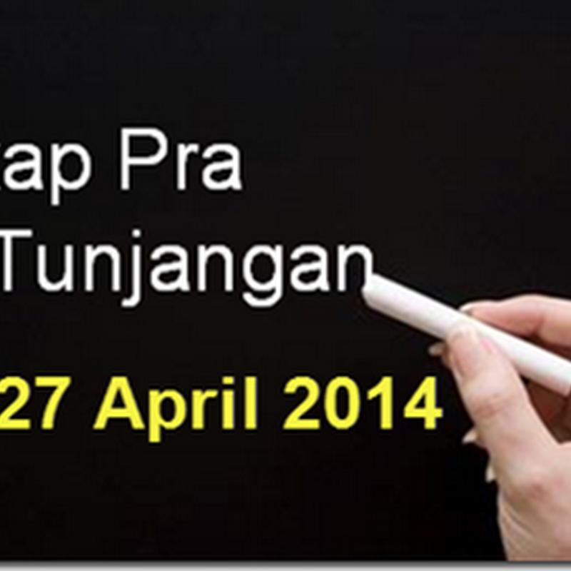 Download REKAP PRA SK TUNJANGAN PROFESI 2014 PER TANGGAL 27 APRIL 2014