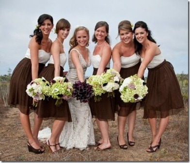 brown.cream.dresses.viaweddingbee