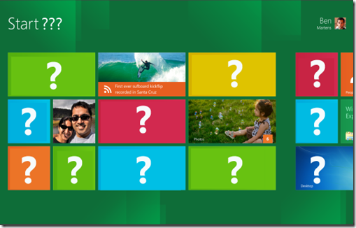 Windows 8 Metro Style UI