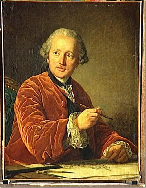 Van Loo, Portrait d'architecte