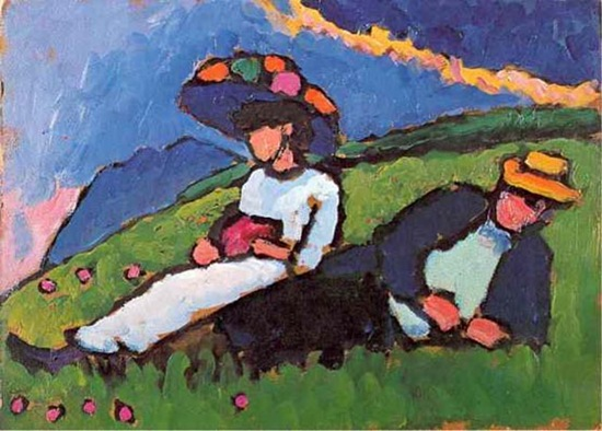 Gabriele-Munter-Jawlensky-and-Werefkin-