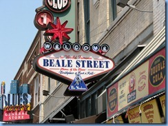 8441 Memphis BEST Tours - The Memphis City Tour - Beale Street (one of America's most famous musical streets)