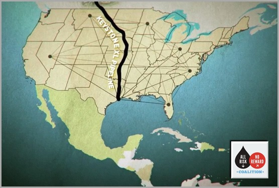CLICK to find out more information on Keystone XL from the ALL RISK/NO REWARD COALITION.