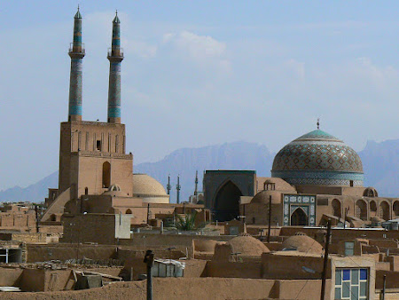 Obiective turistice Iran: Panorama Yazd