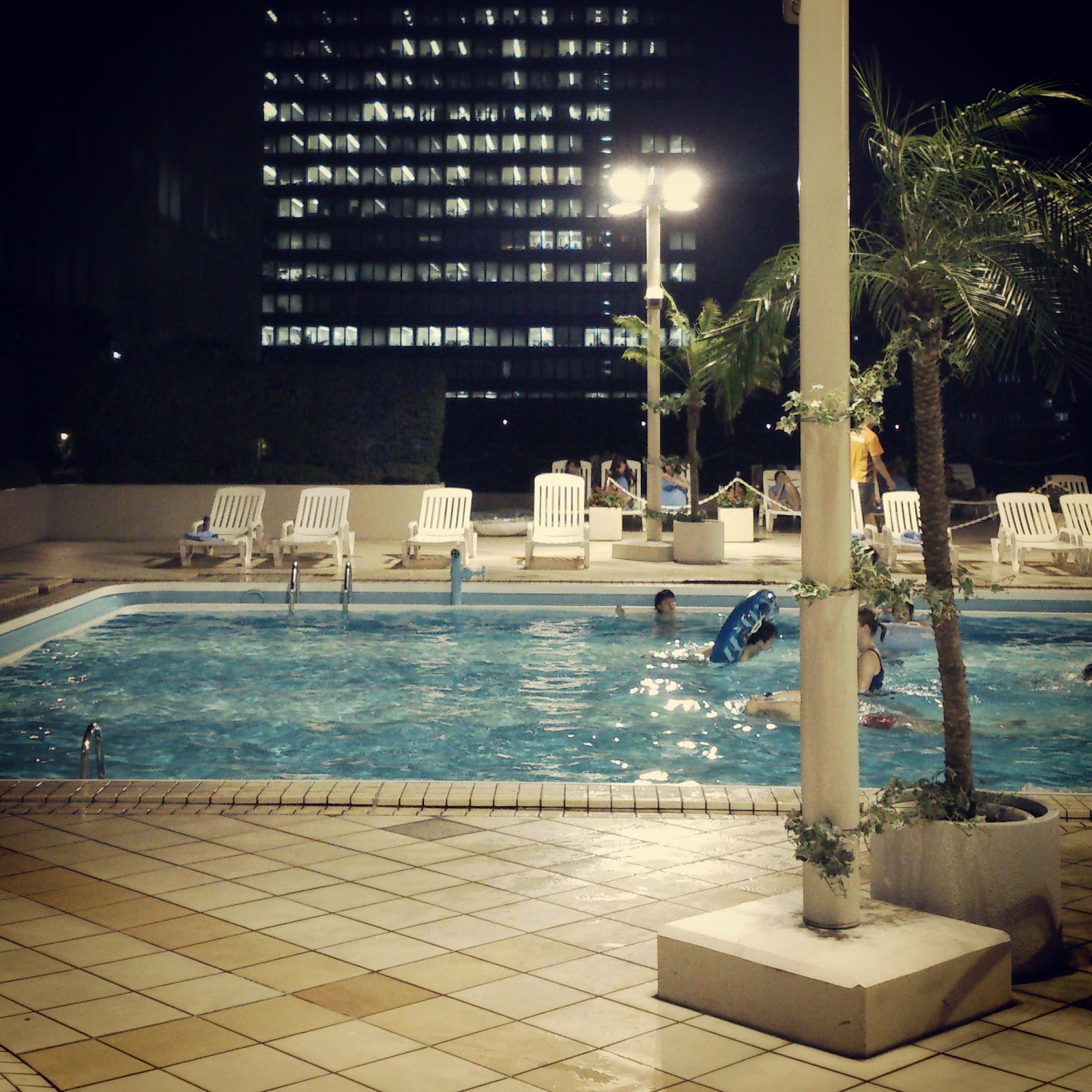 Kaori square feet the pool day after work for Average square footage of a pool