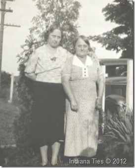 Clara Albers, Martha Albers, daughter and mother