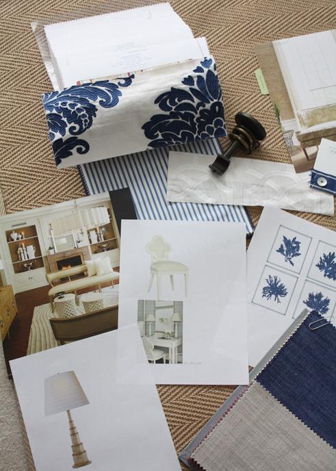 blue and white damask bedroom fabrics
