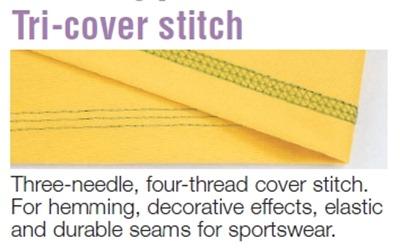 tri-cover stitch
