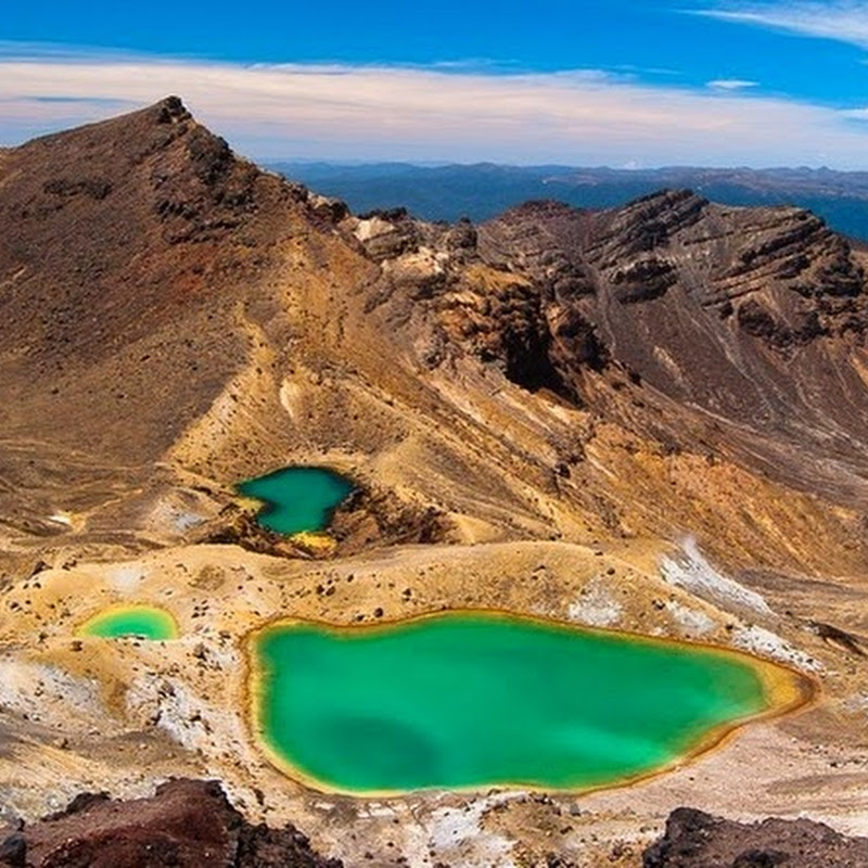 The Crater Lakes of Tongariro National Park