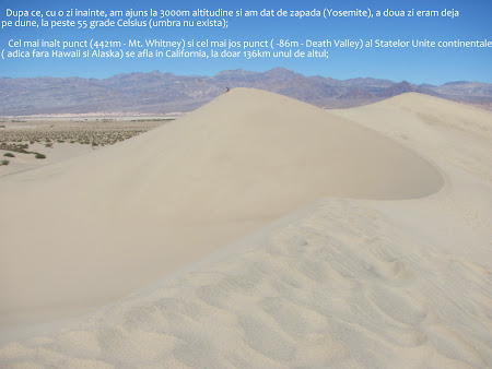 Obiective turistice SUA: Death Valley National Park