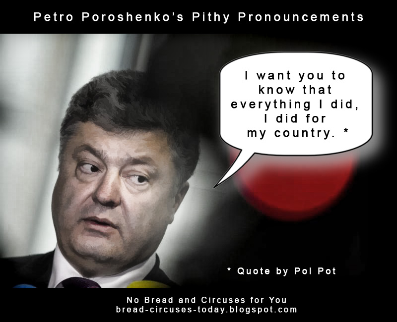 Cc poroshenko everything i did