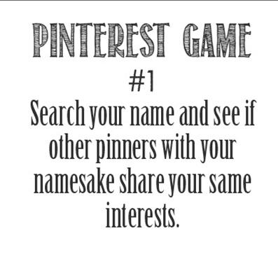 Pinterest Game