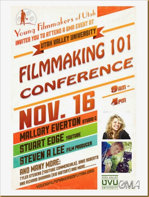 Filmmaking 101 Conference- Flyer 1
