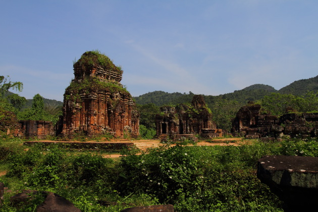 Champa Kingdom Ruins at My Son, Vietnam