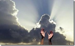 reaching out to heaven