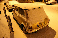 Snow covered mini