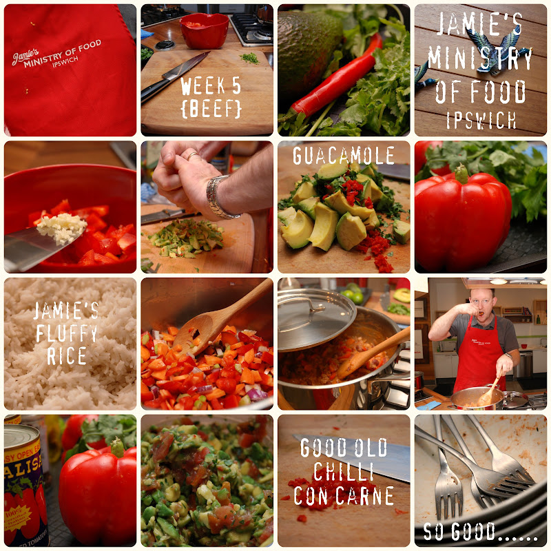 Picnik collage Week 5 Jamie\'s Ministry of Food Ipswich