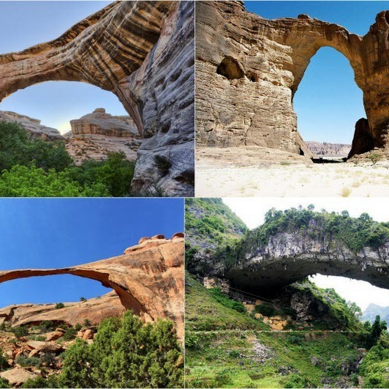 10 Largest Natural Arches in the World