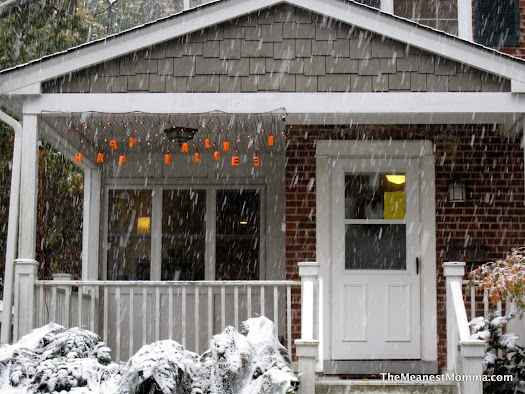 Snowy Pumpkin Party