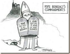 doublstandard pope