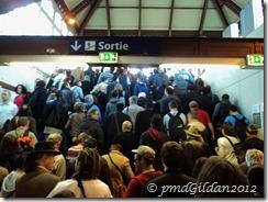 Sortie RER