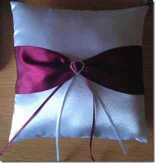 ring cushion - thanks Bev