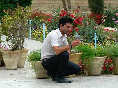 Photos of Shiraz: At Saadi mausoleum