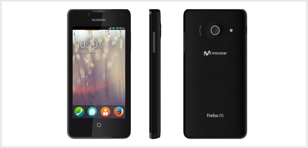 Firefox OS in Huawei Ascend Y300