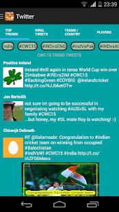 Cricket WorldCup Social 2015 - screenshot