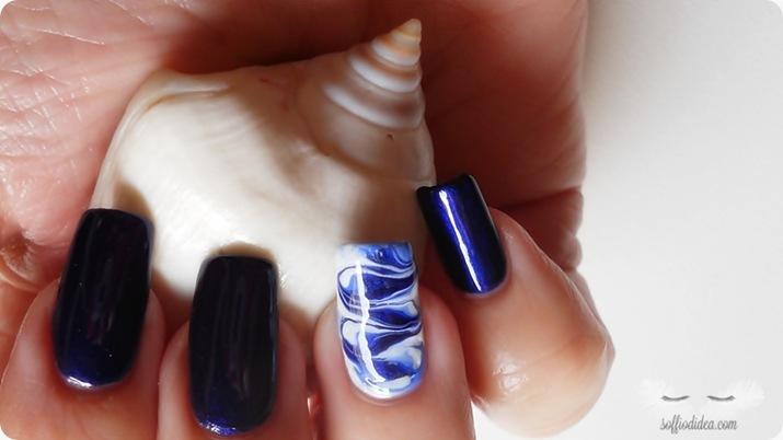 nail art - nailart - marble - soffiodidea - soffio di dea - onde -8a