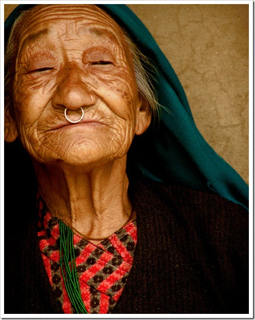 Old lady from Darap