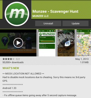 Munzee 1.33 for Android