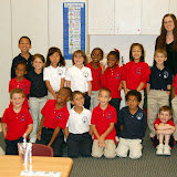 WBFJ Cici's Pizza Pledge Triad Math and Science Academy Ms. Hancock's 1st Grade Class Greensboro