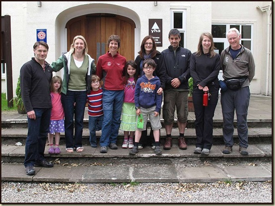 Team Photo: Simon, Polly, Lyn, Ben, Sue, Kate, Andrew, Hazel, Al, Fiona, Martin