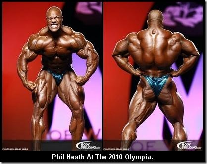2010 Mr. Olympia runner-up Phil Heath