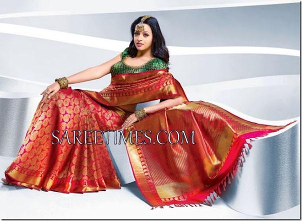 Bhavana_Maroon_Silk_Saree
