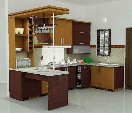 model dapur rumah tangga