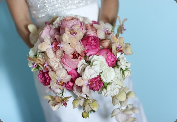 Beautiful-Blooms-Michael-Leslie-Pink-Cascade-Bouquet-Cape-May-Congress-Hall-Garden-Roses-Phaldenopsis-orchids1