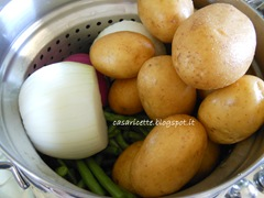 lcdr fagiolini, patate e cipolle