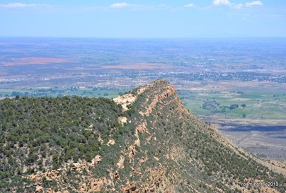 Iconic Mesa Verde from Weatherill Mesa