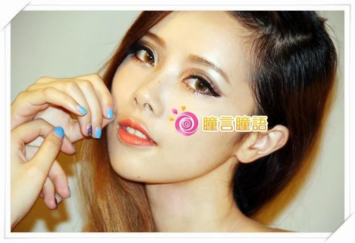 韓國NEO隱形眼鏡-天使三色蜜糖16