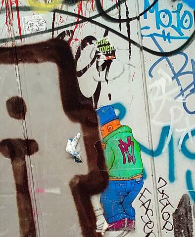 definition street art